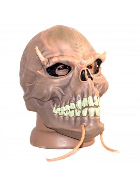 Маска череп рогатый