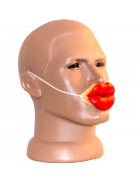 Накладные губы на резинке