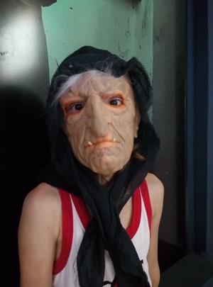 маска баба яга