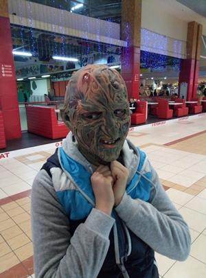 маска фредди Крюгера