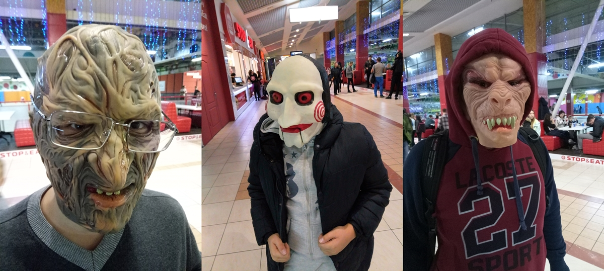 маски из фильмов ужасов