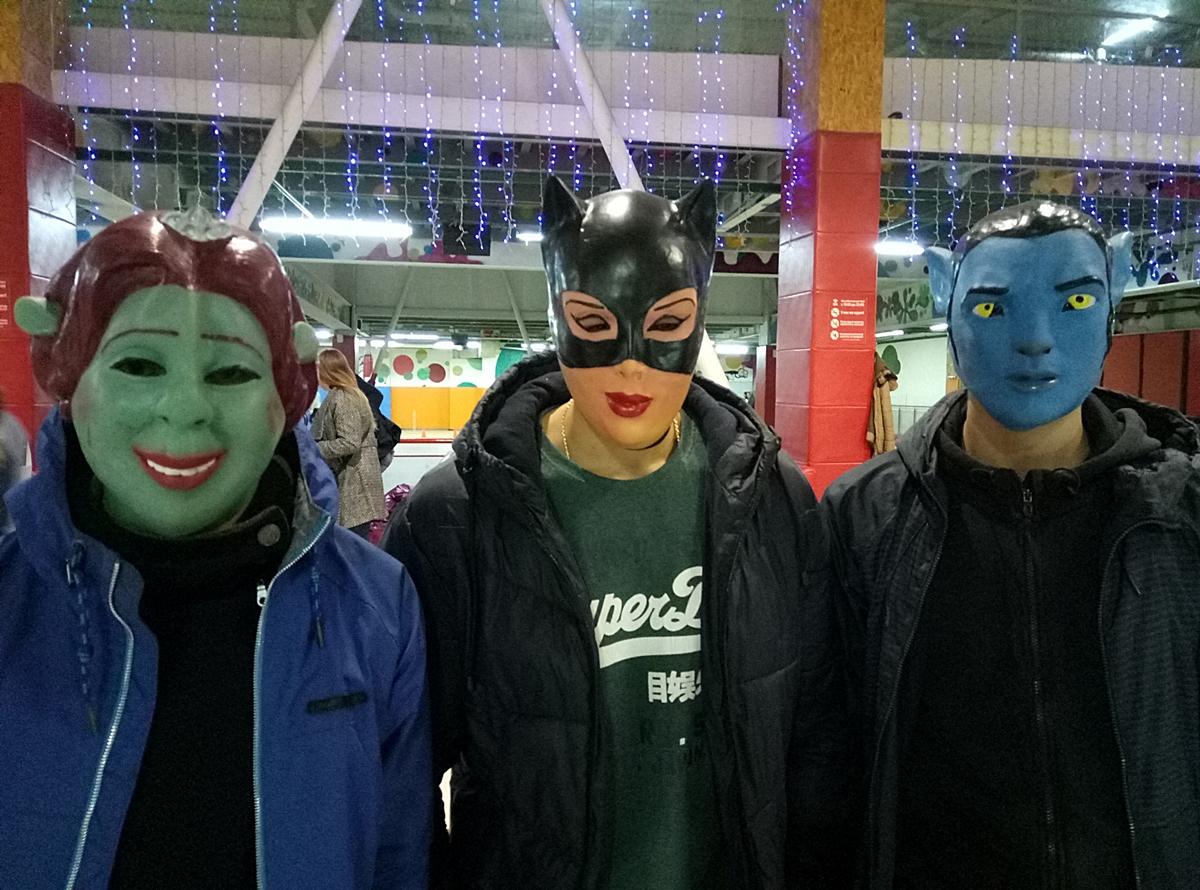 маски из фильмов и мультфильмов