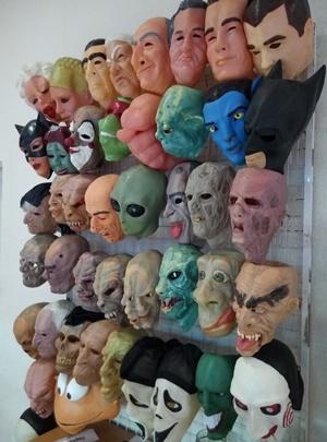 карнавальные и латексные маски оптом от производителя украина